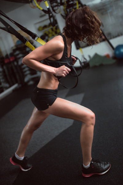 young, girl, is, training, the, upper - 16351063