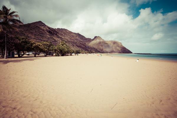 beach, teresitas, in, tenerife, , - 16356213