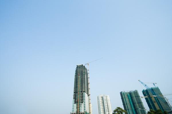 china guangdong province guangzhou high rises