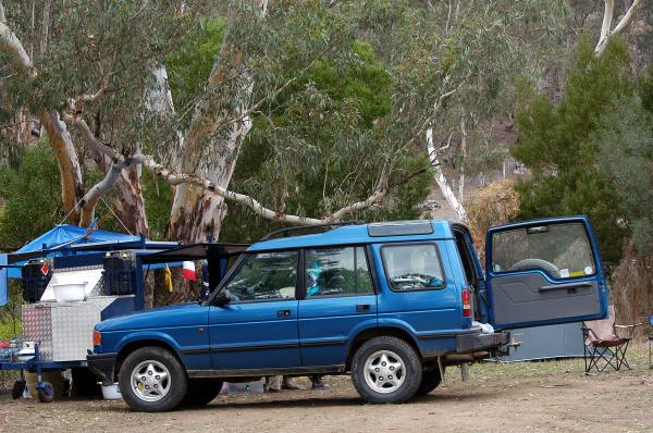 wilderness camping in australia