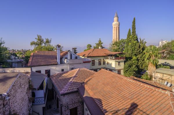 turkey middle east antalya kaleici city