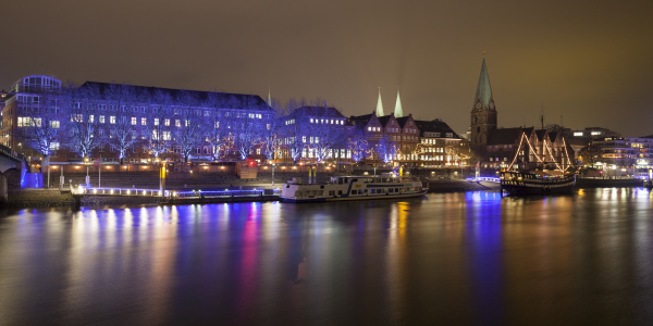 germany bremen view to
