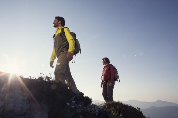 austria tyrol couple hiking