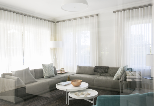 home showcase living room with sofas