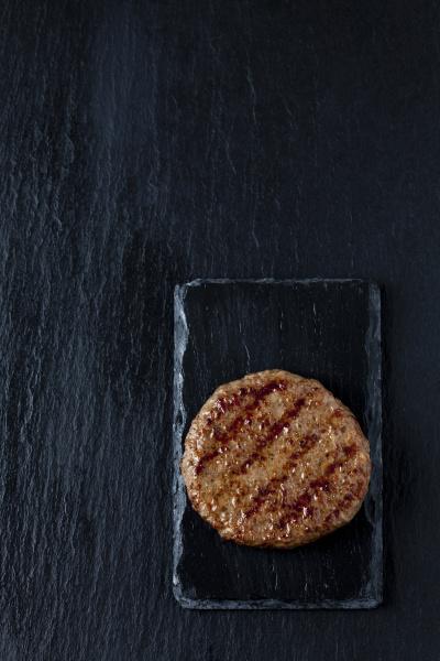 fried beef patty