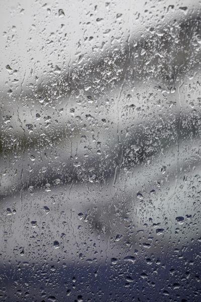raindrops on window hamburg