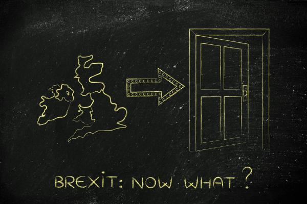 uk next to an exit door