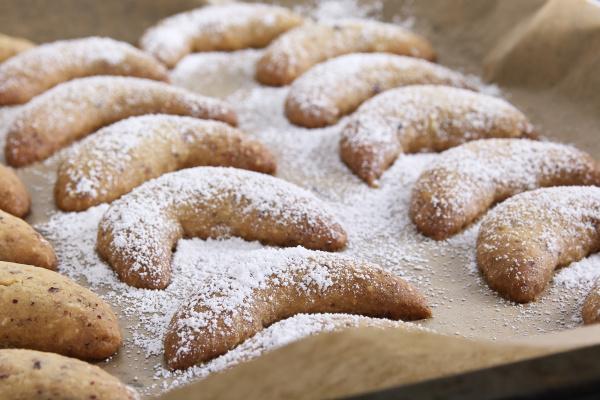 vanilla croissants