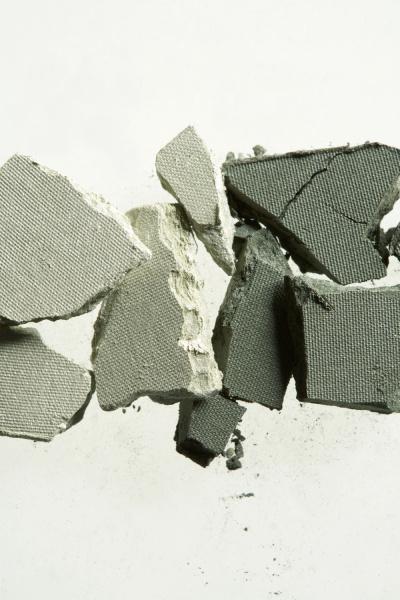 broken cosmetic powder