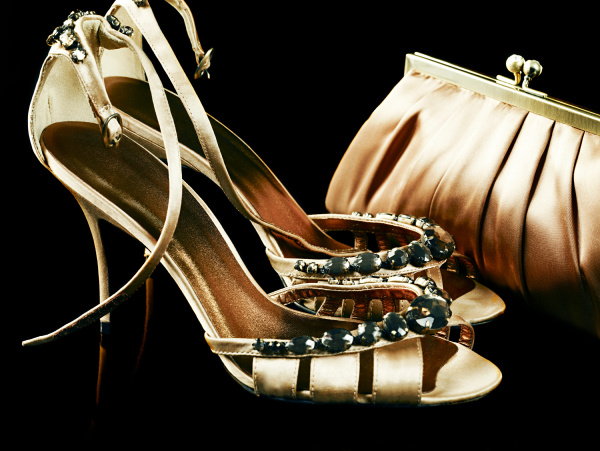 shoes and handbag