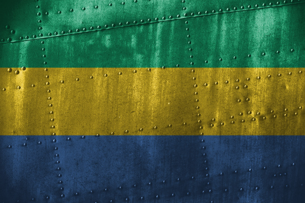 metal texutre or background with gabon