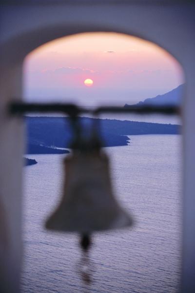 thira fira santorini cyclades islands greece