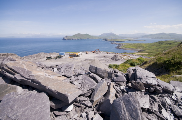the slate quarry valentia island