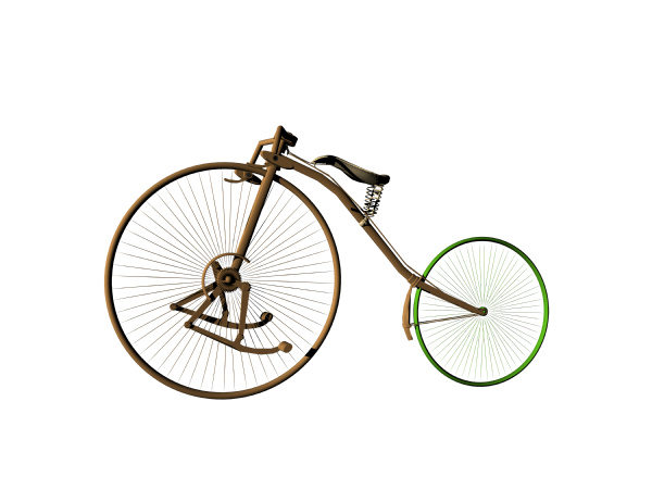 antique bicycle freed