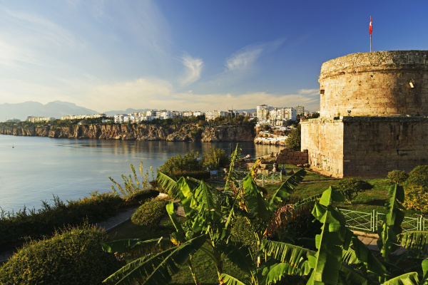 kaleici old city centre antalya taurus