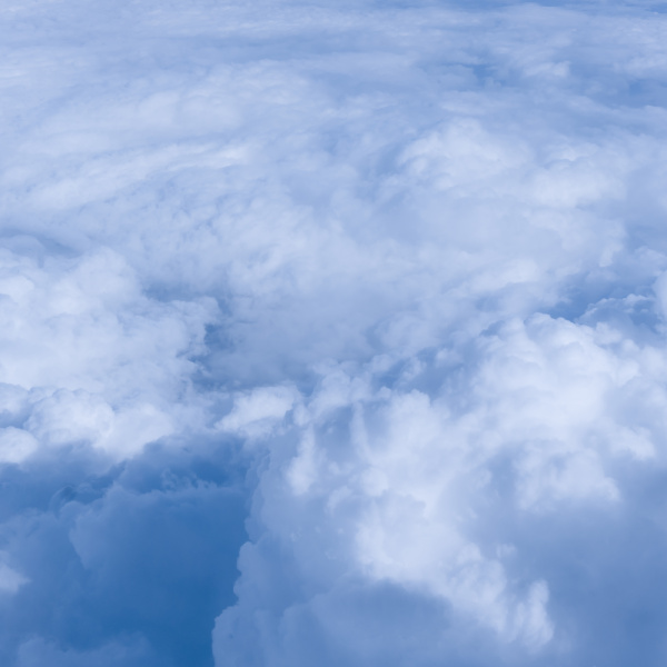 sky, clouds., , over, the, clouds. - 19345400