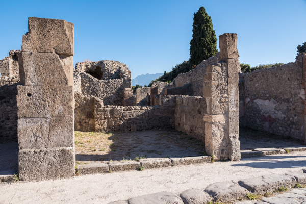 ruins of pompeii the ancient roman