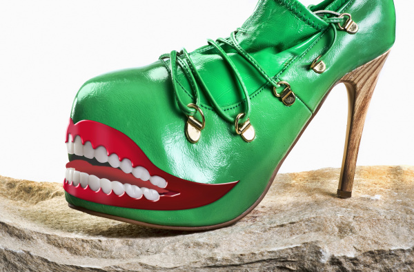 green monster shoes