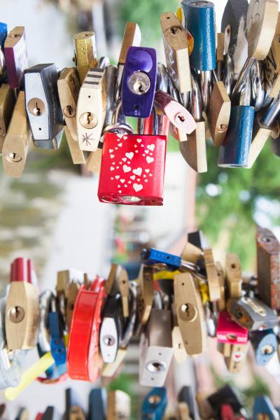 padlocks close up