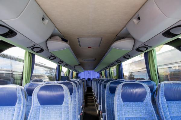 travel bus interior