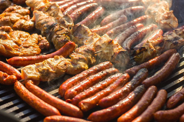 grilled meat barbecue