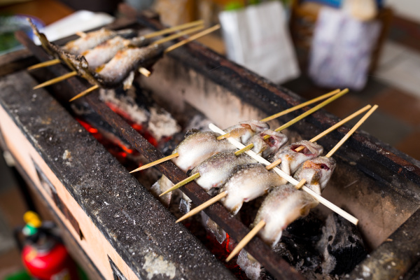 japanese traditional grilled fish