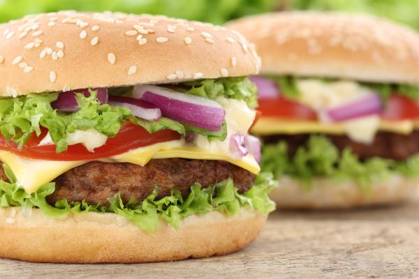 cheeseburger hamburger burger closeup closeup meat