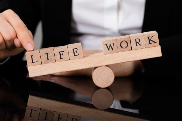 an imbalance between life and work