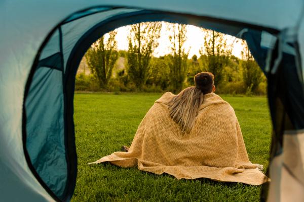 camping mornings