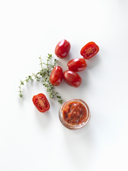 tomato salsa and date tomatoes