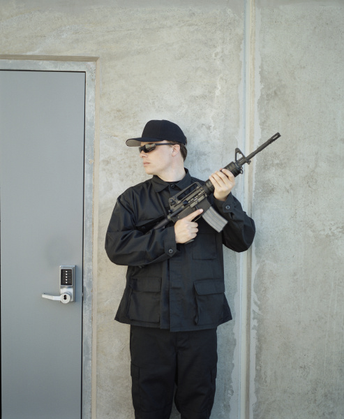 man wearing special forces uniform and