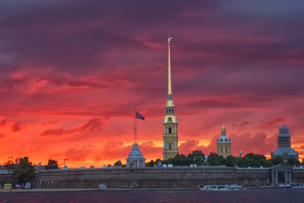 russia st petersburg saints peter and
