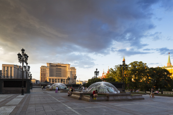 russia moscow manege square