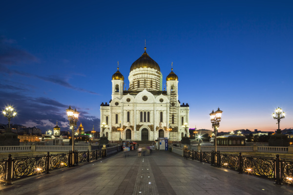 russia moscow cathedral of