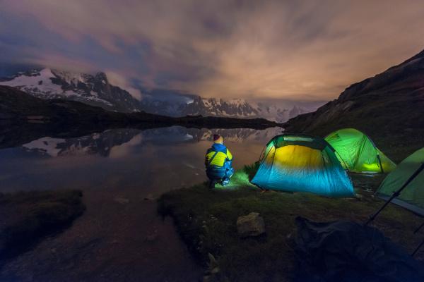 france mont blanc lake