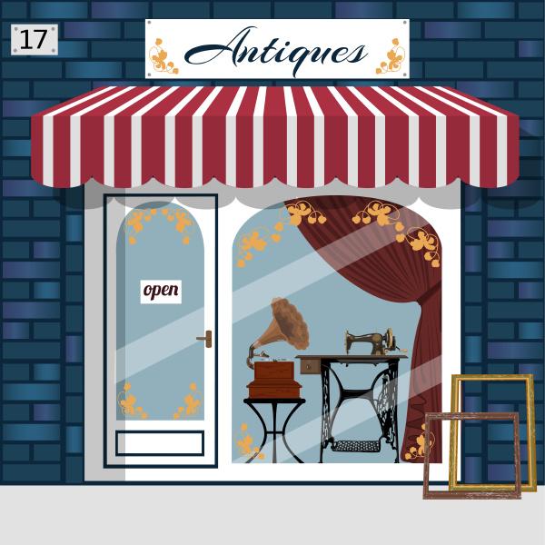 curiosiry shop antiques shop