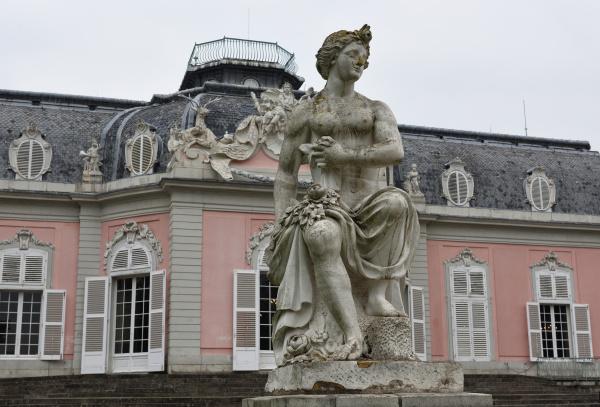 a statue at schloss benrath in