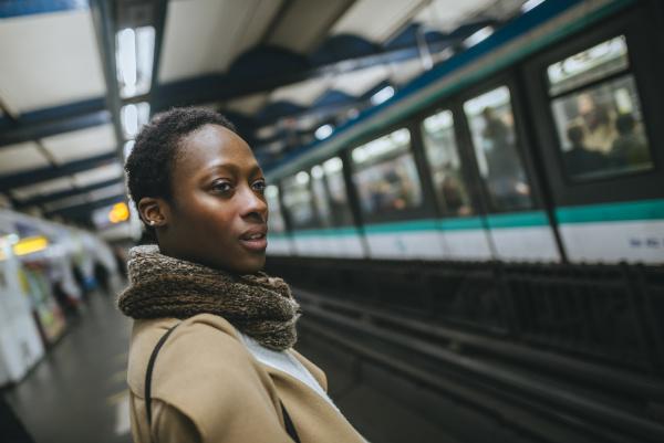 france paris portrait of young woman