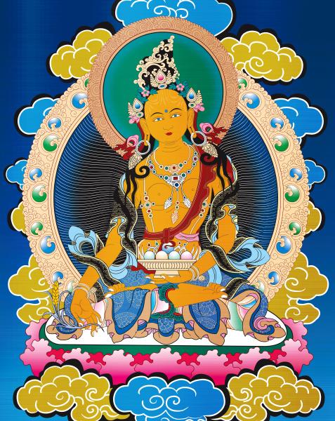 thangka buddhism antique asia