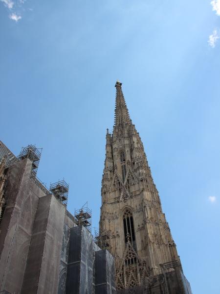 stephansdom church landmark in vienna austria