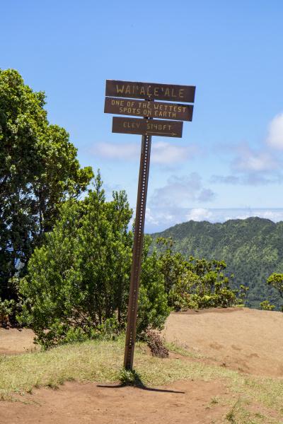 usa hawaii kauai na pali kona