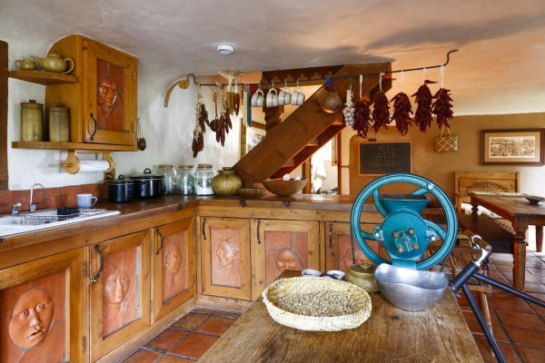 traditional indigenous kitchen
