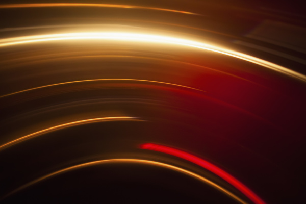 abstract image of vibrant light trails