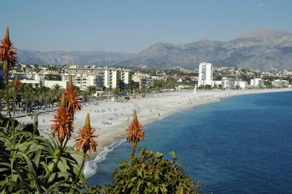 albir beach altea costa