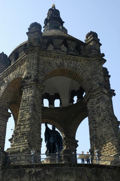 kaiser wilhelm monument at porta westfalica