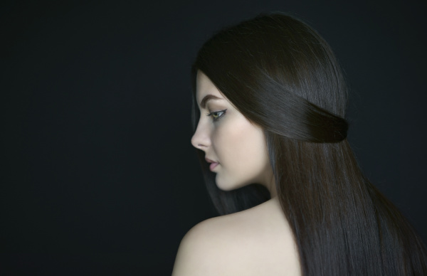 profile, of, caucasian, woman - 24086568