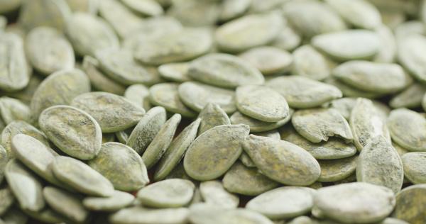 green pumpkin seed