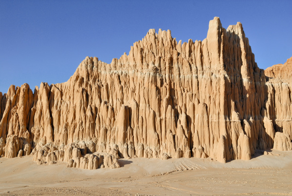 rock formation detail cathedral