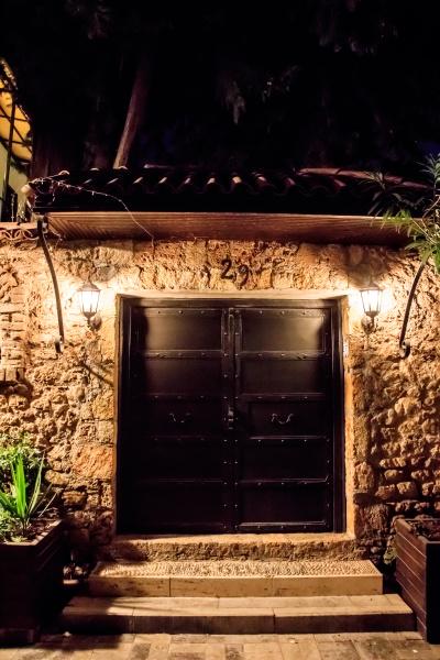 streets of old town kaleici antalya