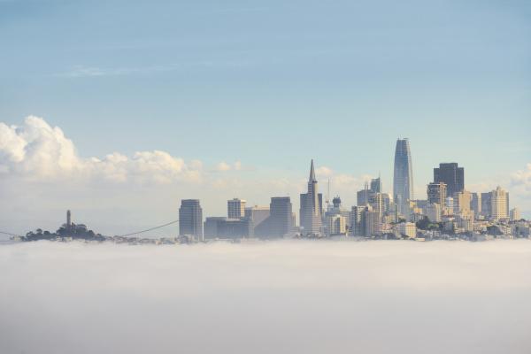 usa california san francisco fog